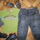 СУПЕР джины мальчику на 1-2 года Состояние новых