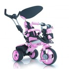 INJUSA Детский Трехколесный велосипед Injusa City Trike Aluminium pink rosa 3262-003
