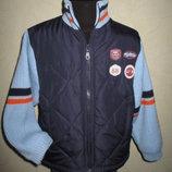 Теплая кофта-куртка Togs by Teddy мальчику на 4-5,5 лет как новая