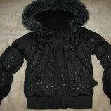 Куртка брендова стильна шикарна George Оригінал р.104-110 на вік 3-5 рочків