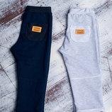 Штаны серые и синие с карманом р.80-116