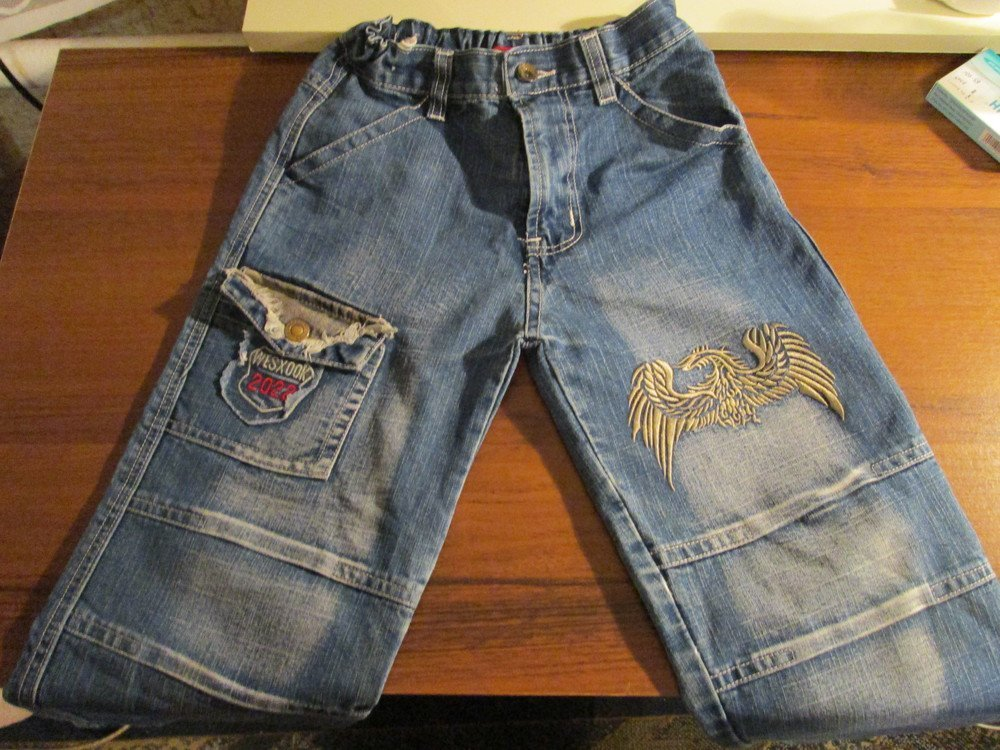 Из джинс сделать бриджи своими руками