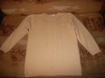 новый свитер женский кремовый