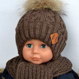 Шапка зима.Натуральный енот, мальчик. р48-52 и 52-56.Заказ каждый пн и чт