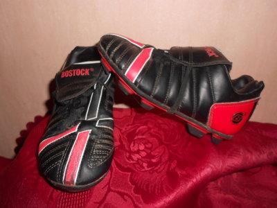 Бутсы, 29 размер, бренд Bostock, c шипами, маленькому футболисту