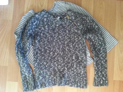 Теплай свитер с люрексом Joe Fresh Канада