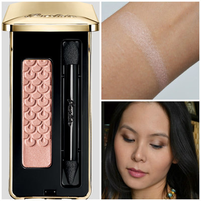 guerlain ecrin 1 couleur long-lasting eyeshadow silky powder 12 pink pong