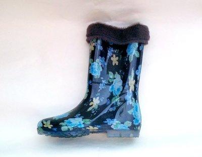 Продано: Резиновые - силиконовые женские сапоги с утеплителем 36-42 размеры