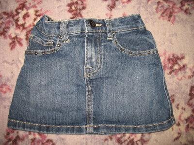 Джинсовая юбочка с трусиками
