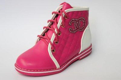 Яркие и стильные деми ботиночки на девочку 27-32
