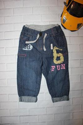 джинсики Next на 12-18 мес