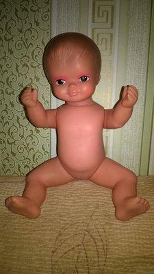 Винтажная коллекционная кукла,пупс