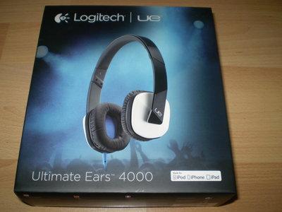 Наушники Logitech Ultimate Ears 4000. Эксклюзивная модель by Castrol