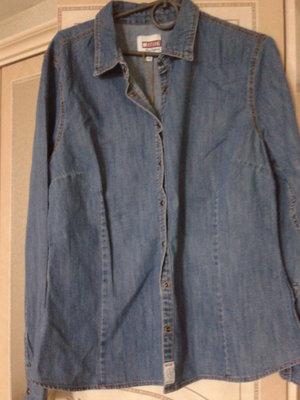 Рубашка джинсовая оригинал Мustang германия
