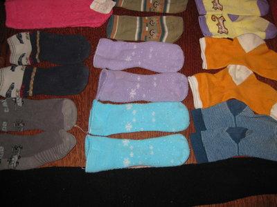 Коготки, носочки 14 размер.
