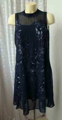 Платье шикарное вечернее Miss Selfridge р.50 7188