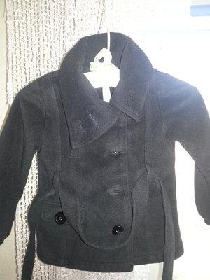 Тёплое пальто для девочки