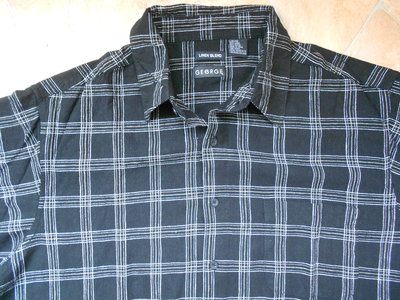 рубашка George лён размер L