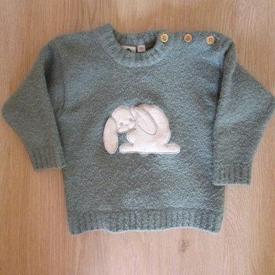 Теплый свитер р.80